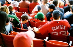 fans at Fenway